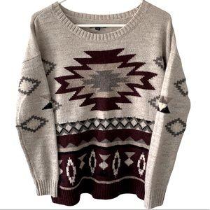 American Eagle Oversize Wool Blend Sweater